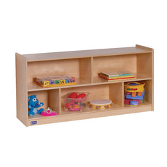 "24"" High Single Mobile Storage - Honor Roll Childcare Supply"