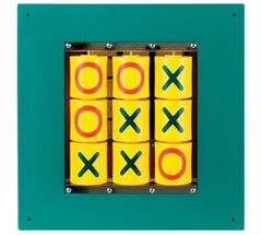 Anatex Busy Cube - Tic-Tac-Toe Wall Panel - Honor Roll Childcare Supply