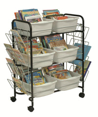 Teacher's Value Book Cart - Honor Roll Childcare Supply