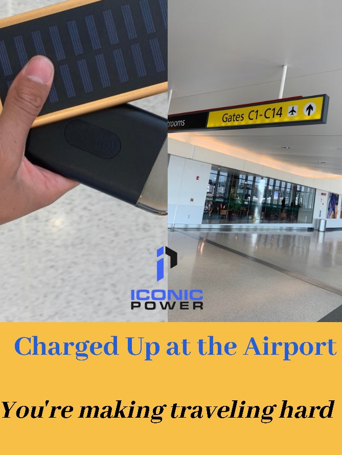 Charged Up at the Airport