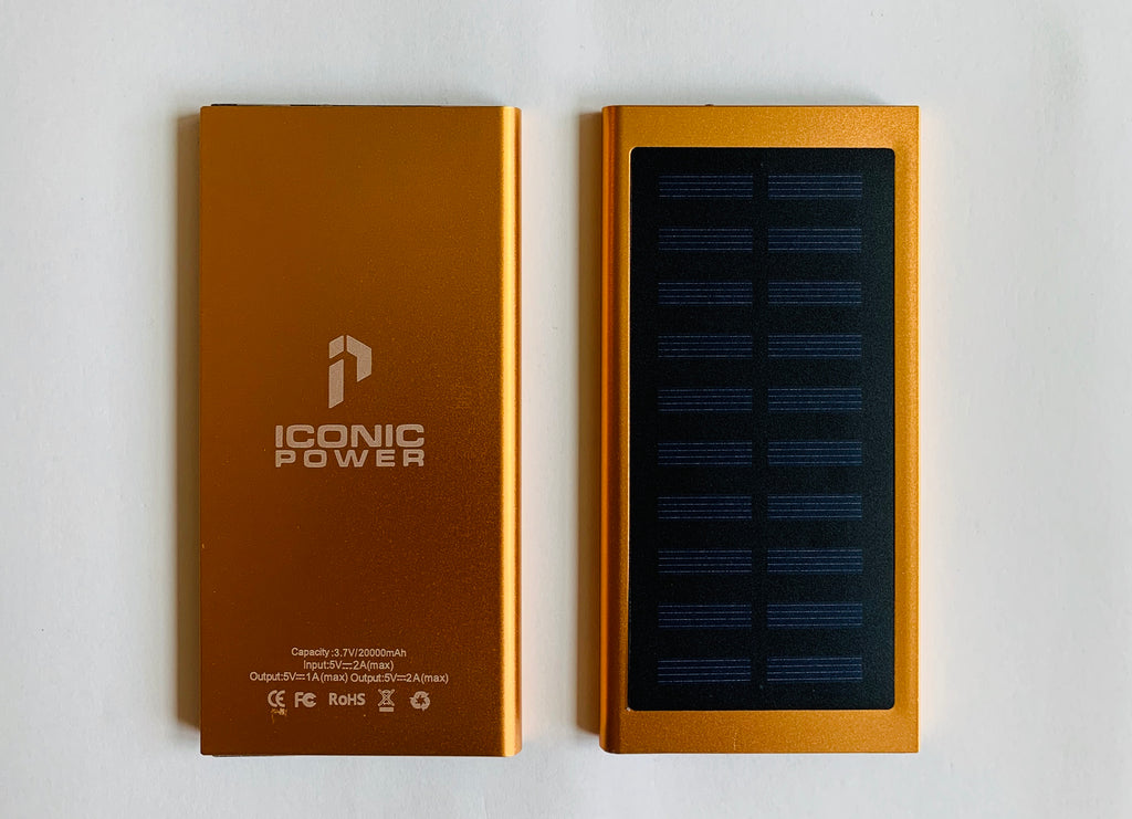 Solar Portable Charger - ICONIC POWER