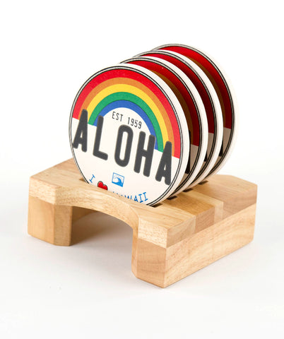 Coaster Set Display Stand