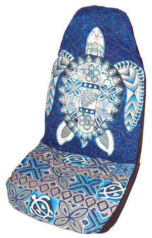 Blue Honu Car Seat Cover