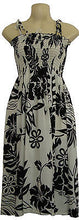 Hawaiian Big Hibiscus Flower Maxi Dress One Size Fits All