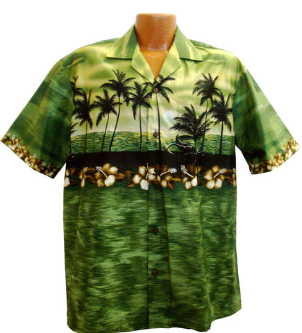 Hawaiian Sunset Aloha Shirt