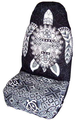 Black Honu Car Seat Cover