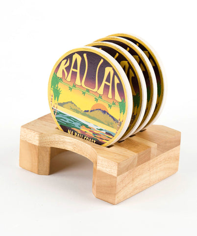 Island of Kauai Coaster