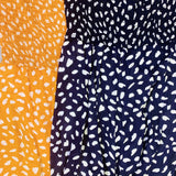 Monogram Sunflower Dot Jumpsuit