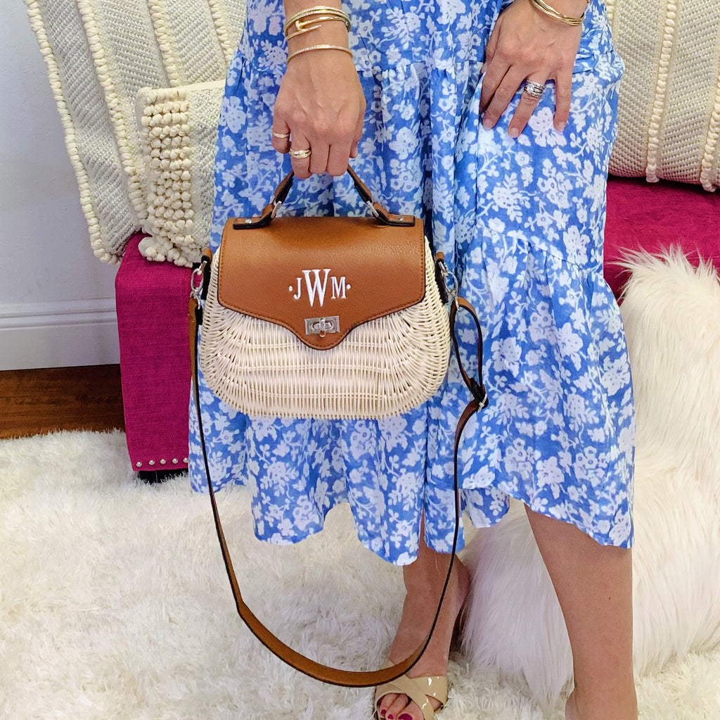 Monogram Bimini Crossbody Bag