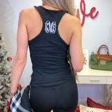 Monogram Leighton Racerback Tank Top