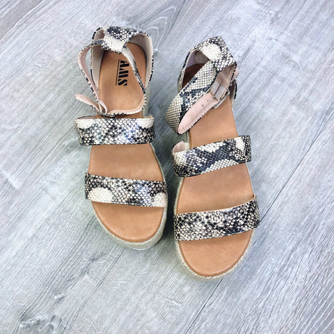 Sunrise Satin Burch Sandals