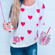 Monogram Melody Pullover