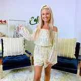 Sparkle into theHolidays Romper