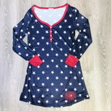 Monogram USA Stars Nightgown