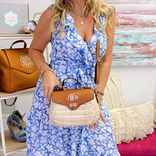 Monogram Pink Weekend Bag
