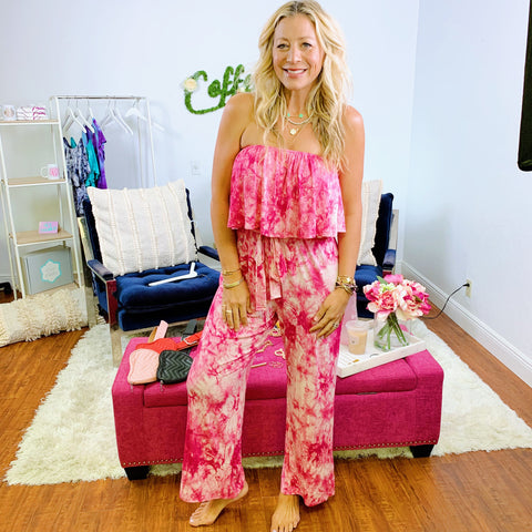 Pink Party Pop Romper