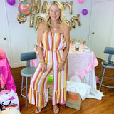 Sunshine Striped Jumpsuit