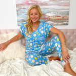 Monogram Citrus Party Pajama Set