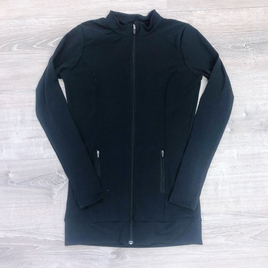 Monogram Danielle Zip Up Track Jacket
