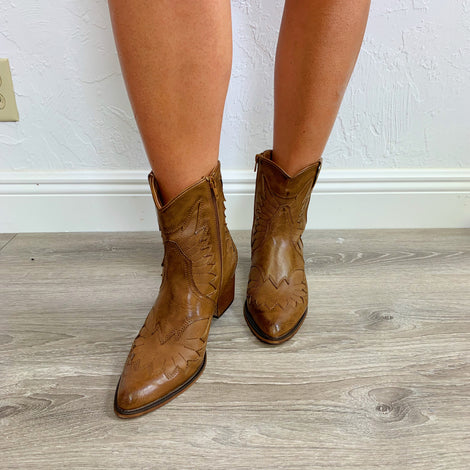 Whisky Cowboy Booties