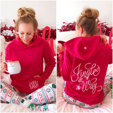 Monogram Jingle All The Way Hoodie