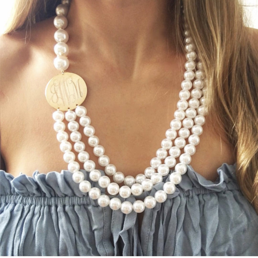 jewellery image ombre s hall dower pearl necklace
