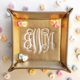 Monogram Jewelry Tray