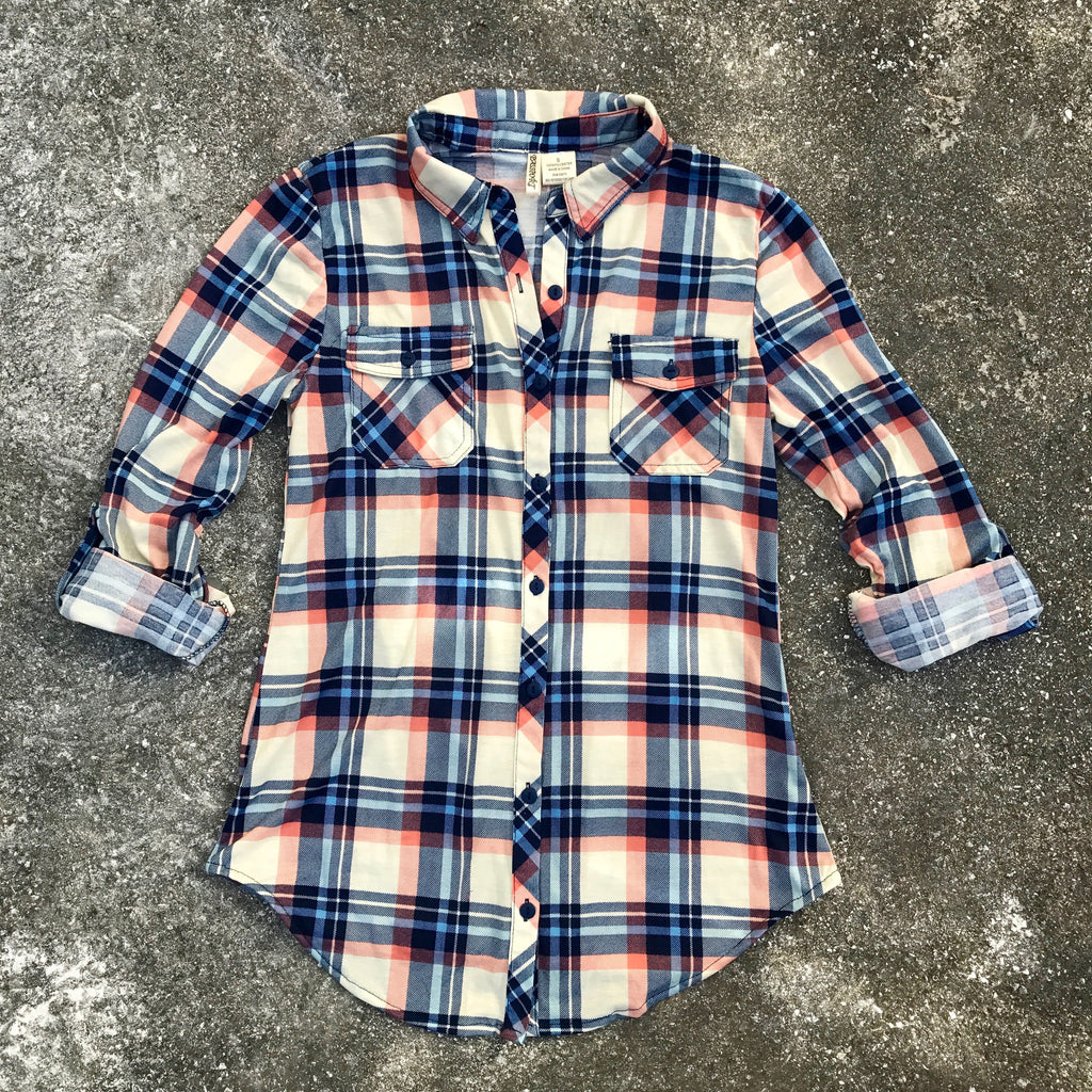 Presley Plaid Button Down