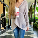 Monogram Cali Criss Cross Sweater