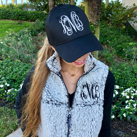 Monogram Darling Denim Hat