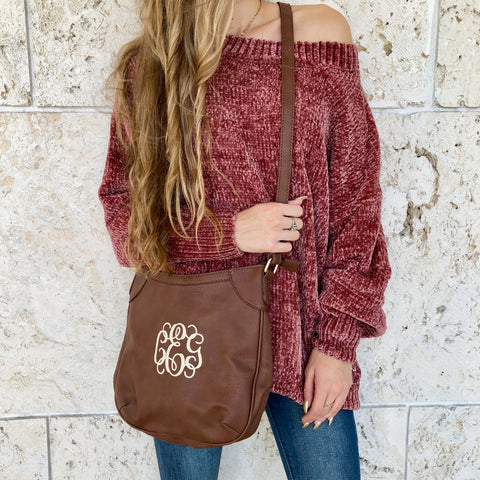 Blush Fringe Bucket Bag