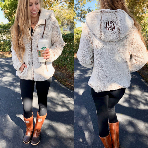 Monogram Logan Lace Top