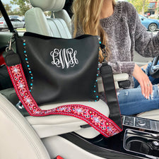 Monogram Clearly Cute Tote Bag