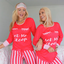 Monogram Winter Wonderland Pajama Set
