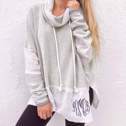 Wifey Sweatshirt - Dark Gray with Gold