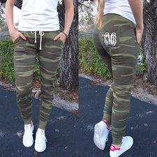 Monogram Capri Scrunch Pants