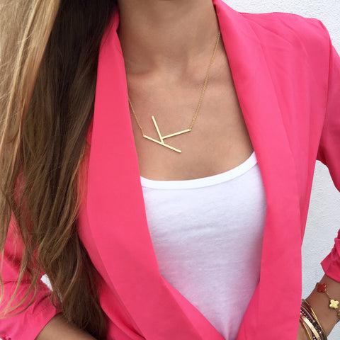 Monogram Zoe Pearl Necklace