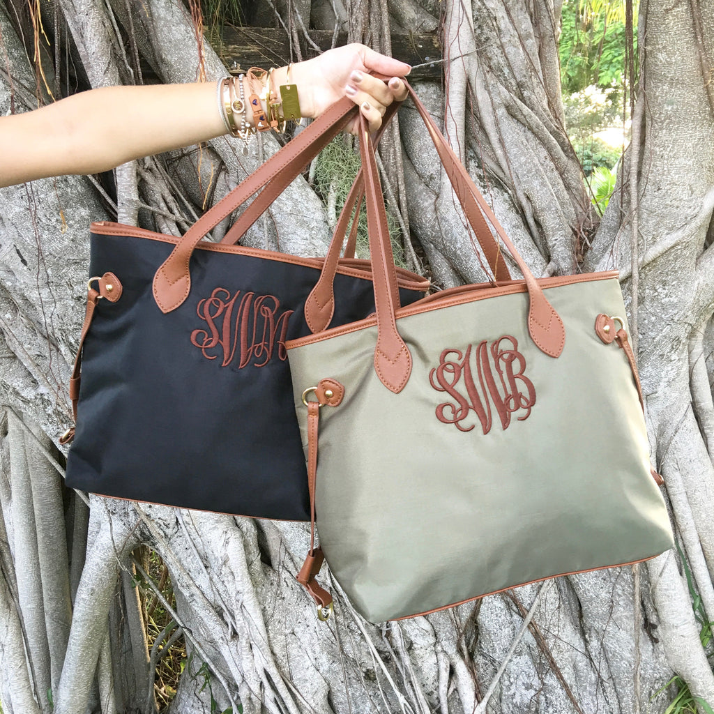 Monogram Tote Bag