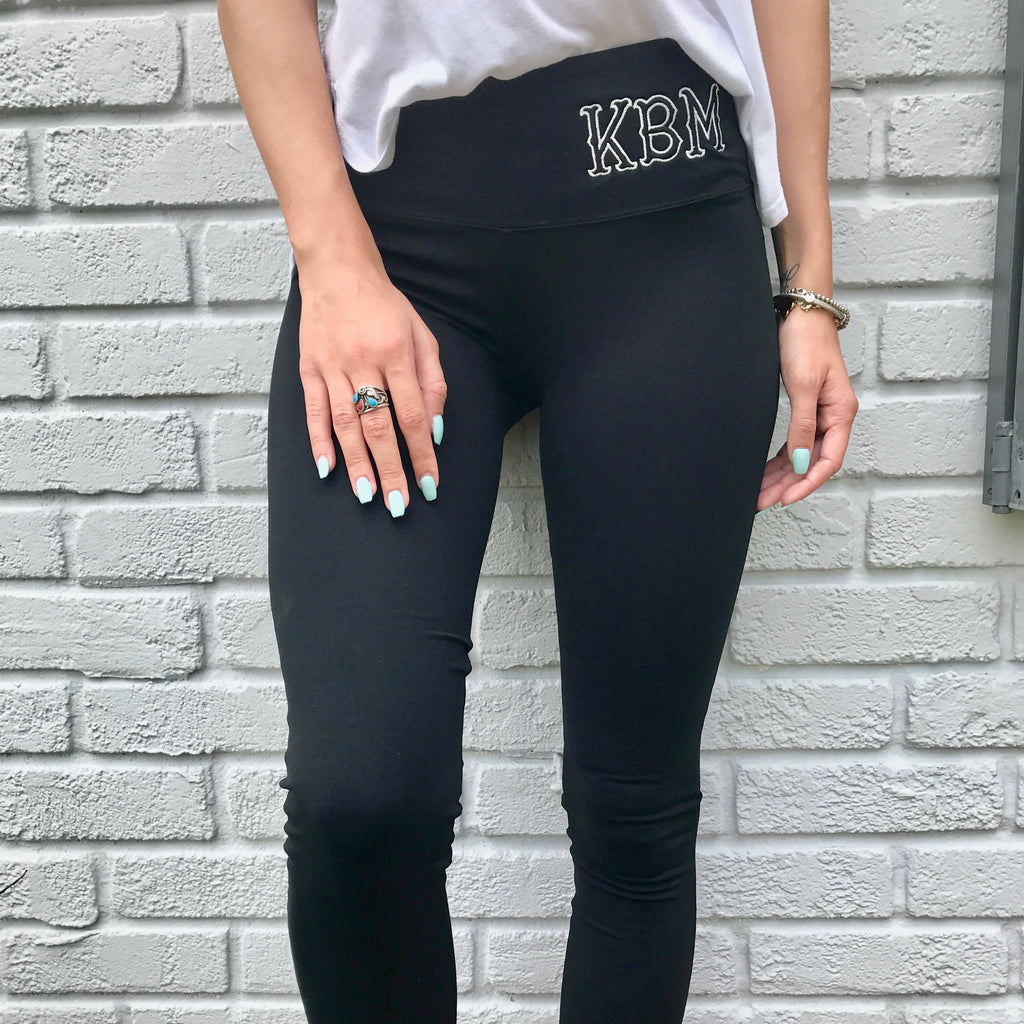 Monogram Riley Leggings