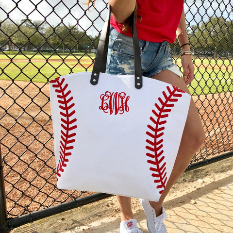 Monogram Blair Tote Bag