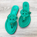 Satin Burch Sandals