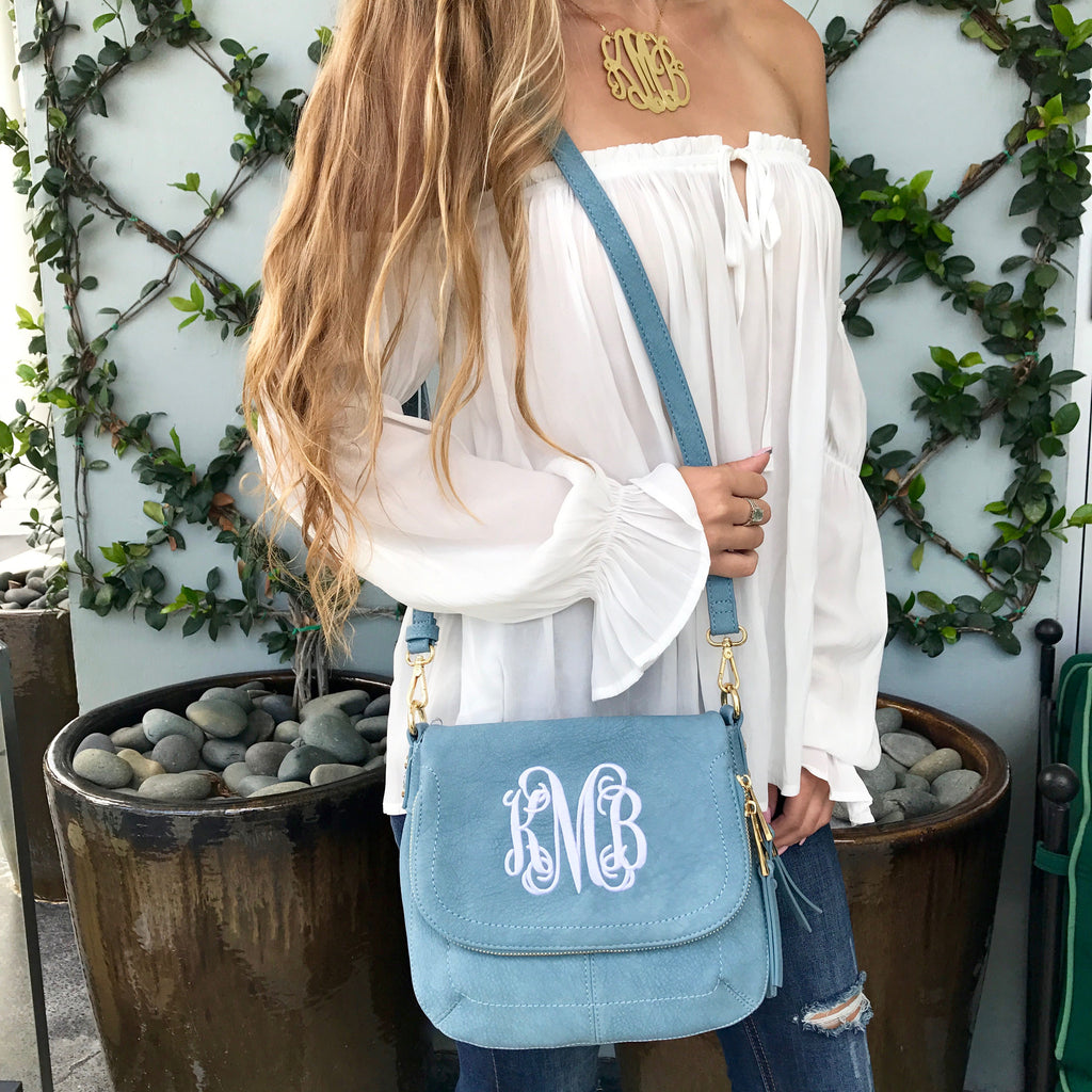 Monogram Eden Crossbody Bag