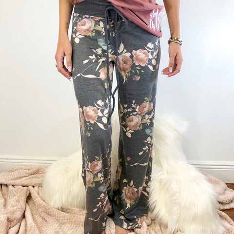 Monogram Velvet Lounge Pants