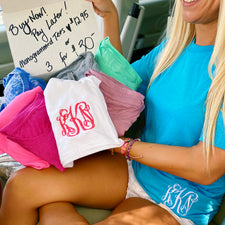 Monogram Mystery TEE {One Time Purchase}