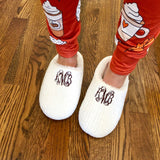 Monogram Cozy Slippers
