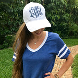 Monogram Indo White Hat