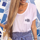 Monogram Mason Pocket Tee