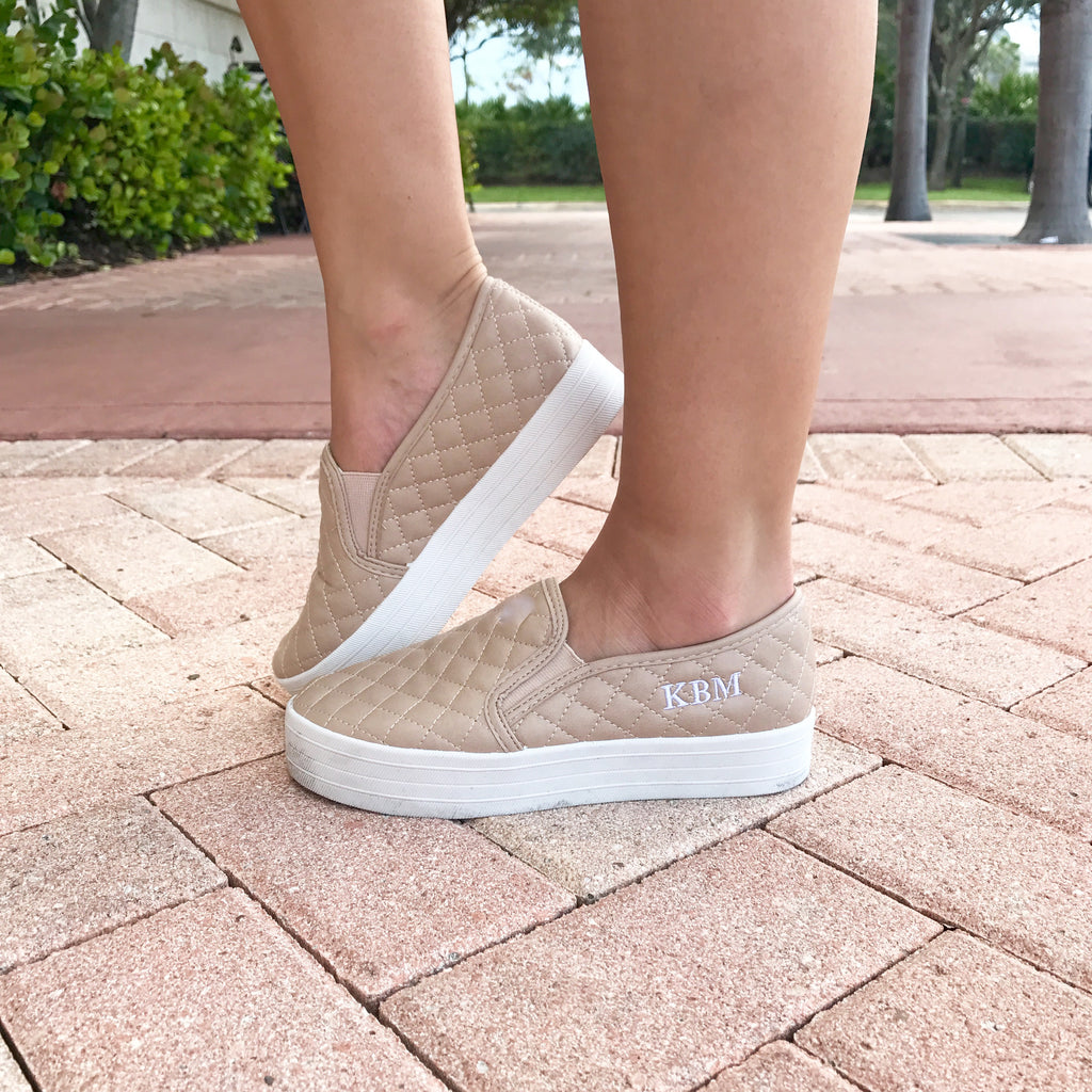 Monogram Perry Platform Sneakers