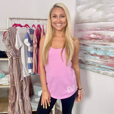 Monogram Mara Tank Top