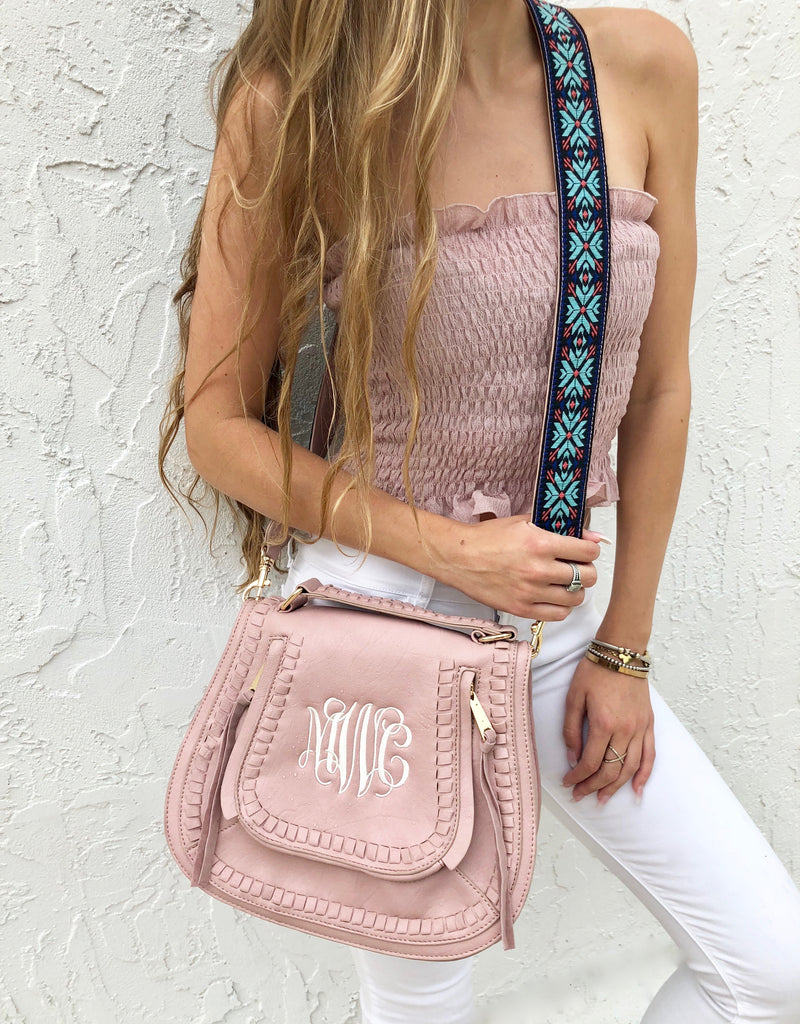 Monogram Orchid Crossbody Bag